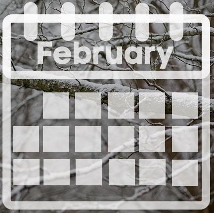 calendar of February
