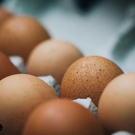 instagram image a carton of farm fresh eggs